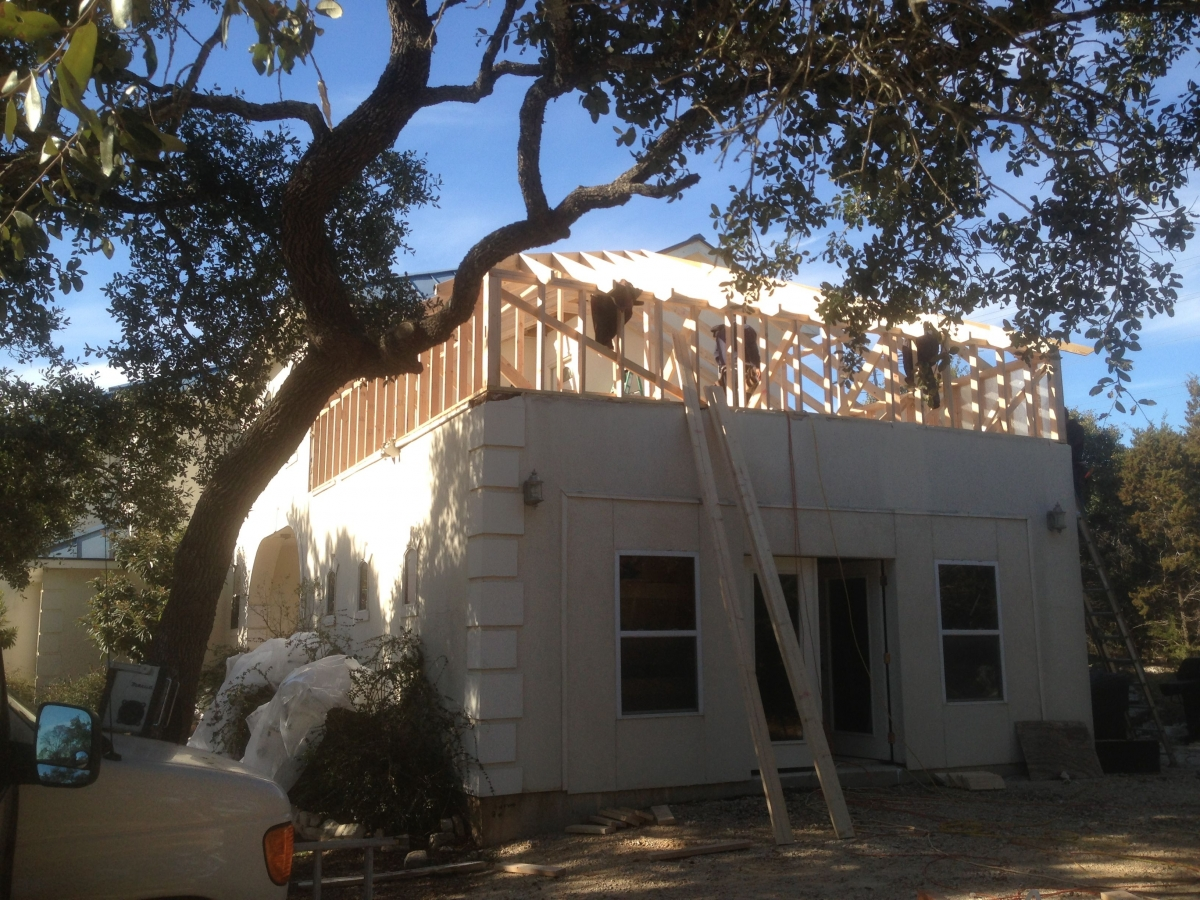 Spring Branch Roof Addition Sandoval Contracting